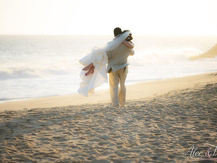 Cabomax plays a wedding at Pueblo Bonito Sunset Beach
